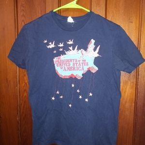 PRESIDENTS OF THE USA T-SHIRT 👕 90s Rock Music